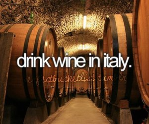 italy, wine, and before i die image