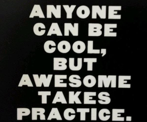 awesome, cool, and words image