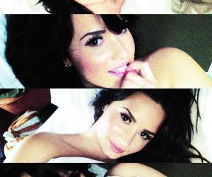 demi lovato, linda, and sensual image