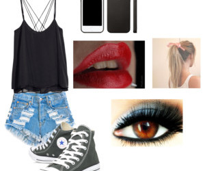 casual, girl, and Polyvore image