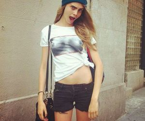 cara delevingne, model, and funny image