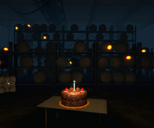 cake, portal, and games image