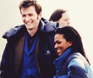david tennant, doctor who, and martha jones image