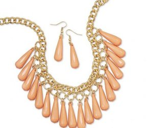 earrings, fashion jewelry, and necklace image