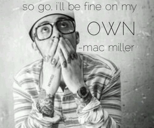mac miller and glasses image