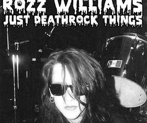 deathrock, goth, and rozz williams image