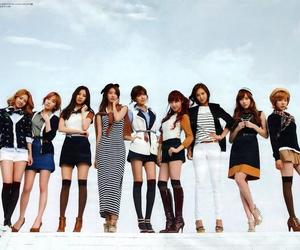 snsd and high cut image