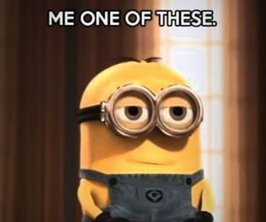 anything, awesome, and minions image