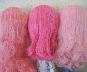 pink and wig image