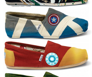 toms, shoes, and Avengers image