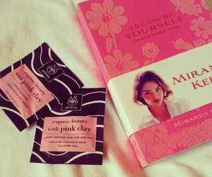 book, miranda kerr, and treasure yourself image