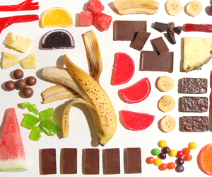 food, candy, and fruit image