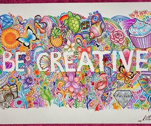 creative and drawing image