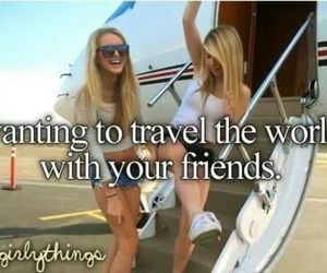 friends, travel, and world image
