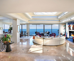 dream house, living room, and luxury image