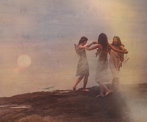 girl, fairy, and friends image