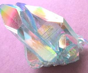 crystal, grunge, and pink image