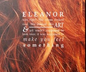 book, eleanor, and eleanor & park image