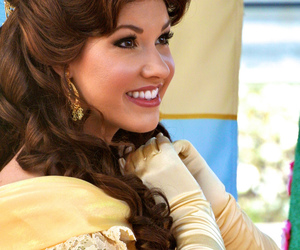beauty and the beast, belle, and cosplay image