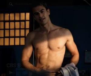 four, divergent, and hot guy image