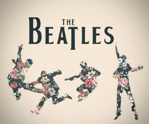 flowers, cute, and the beatles image
