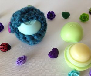 lip balm, eos lip balm, and easter gift image