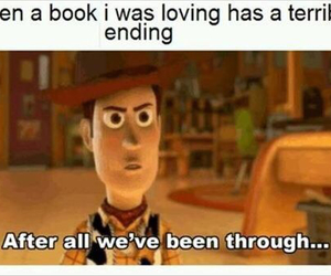 book, toy story, and funny image