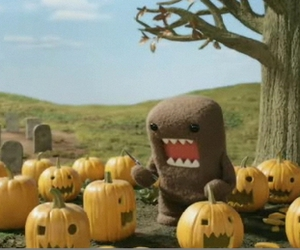 Halloween, others, and domo kun image