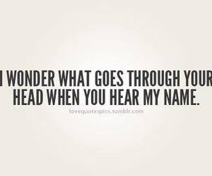 quote, head, and wonder image