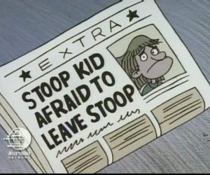hey arnold and stoop kid image