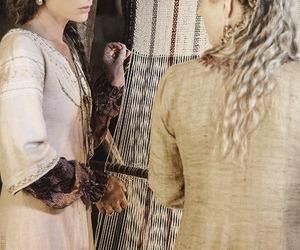 vikings, jessalyn gilsig, and siggy image