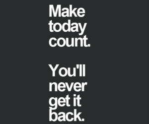 quote, life, and count image