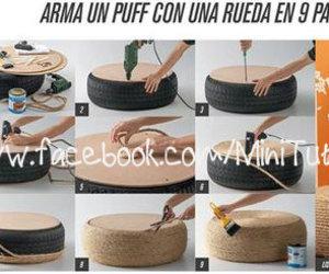 rueda, manualidades, and tutoriales image