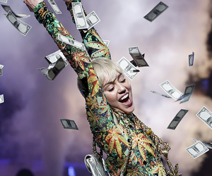miley cyrus, money, and miley image