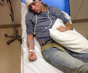 taylor caniff, magcon, and hospital image