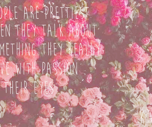 flower, quote, and girly quote image