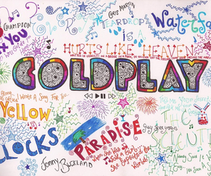 coldplay, music, and paradise image