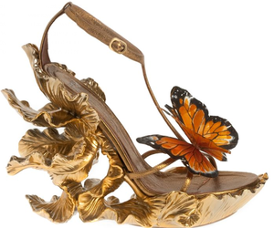 butterflies, heels, and pretty image