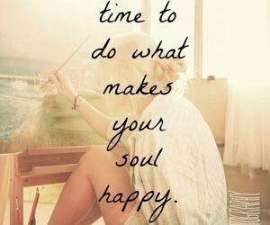 happy, quotes, and soul image