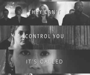 divergent, tris, and insurgent image