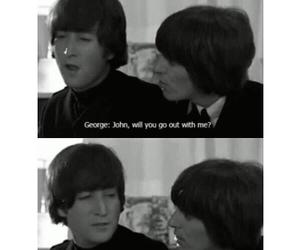 fun, george harrison, and john lennon image