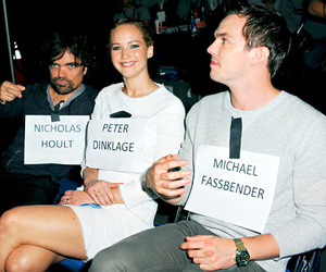 Jennifer Lawrence, nicholas hoult, and peter dinklage image