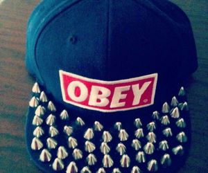 obey, swag, and cap image