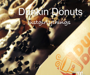 donuts, love, and dunkin image