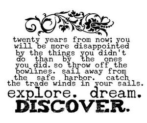 Dream, text, and discover image