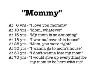 love, mommy, and text image