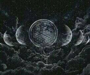 bmth, bring me the horizon, and moon image