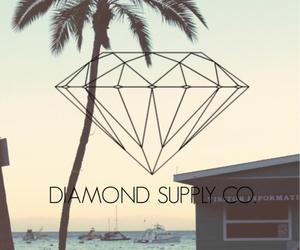 diamond, beach, and dope image