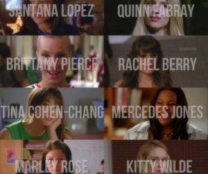 chicas, glee, and ellas image