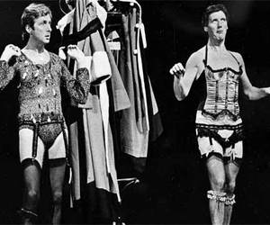 Eric Idle, michael palin, and monthy pyton image